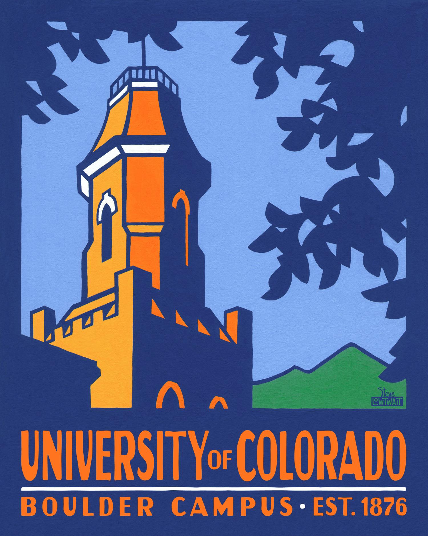 University of Colorado, Boulder •  Buy
