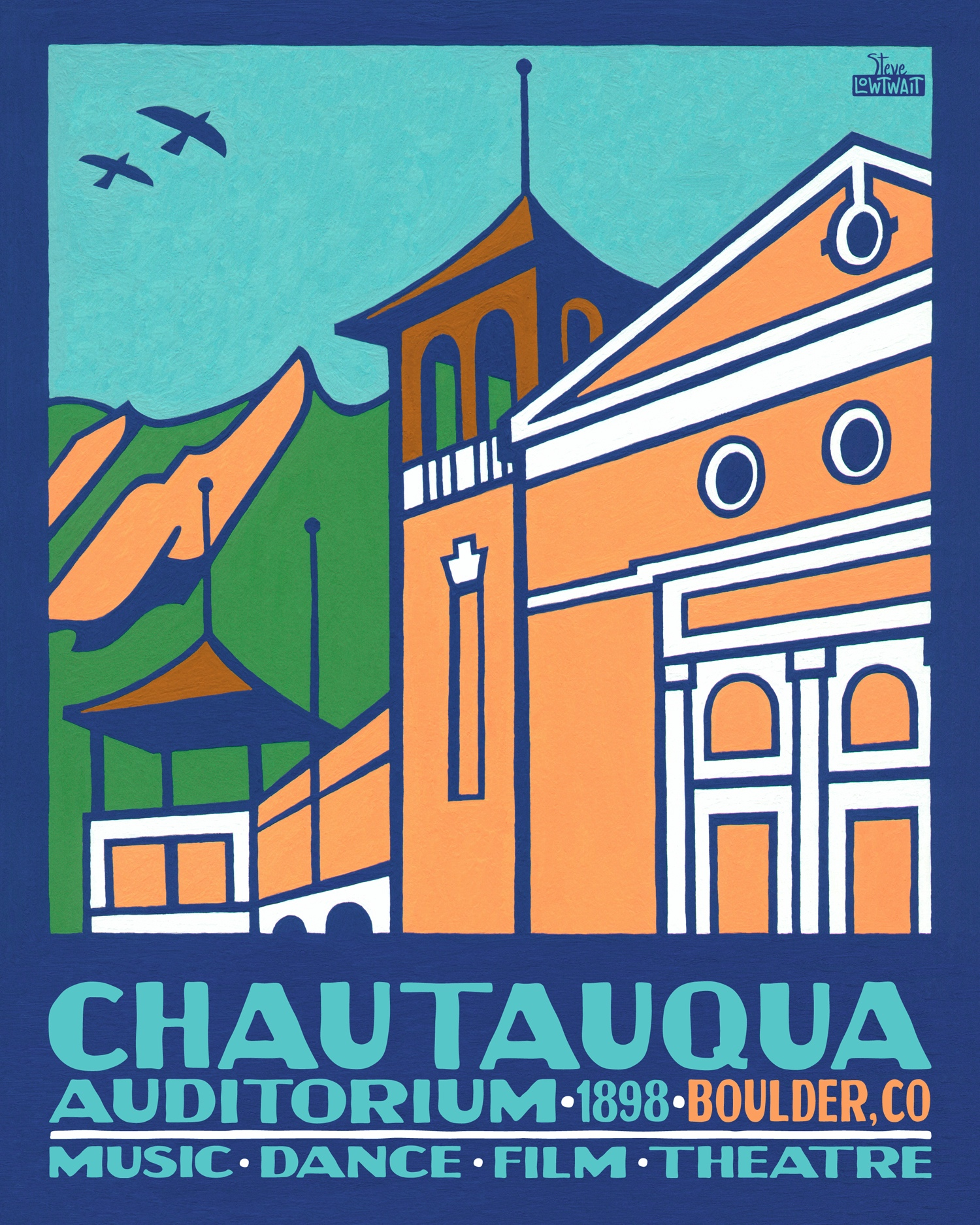 Chautauqua Auditorium, Boulder •  Buy