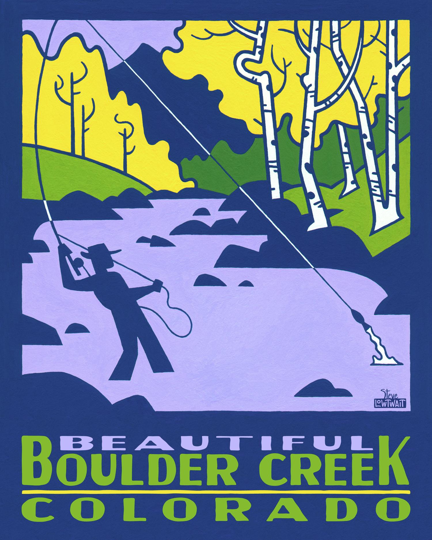 Boulder Creek - Colorado •  Buy