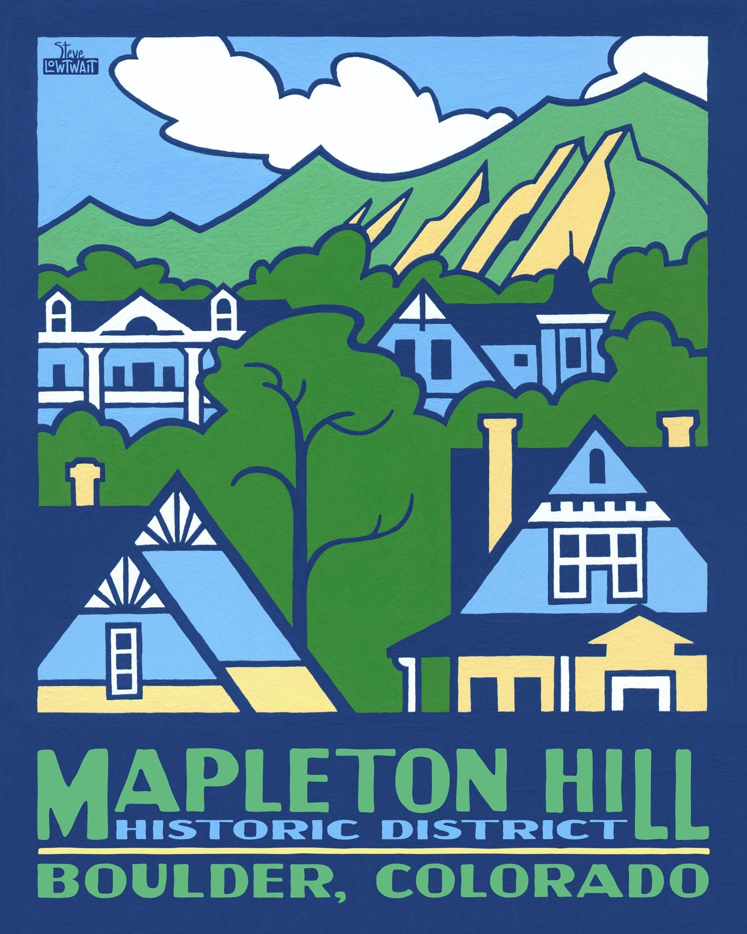 Mapleton Hill - Boulder, Colorado •  Buy