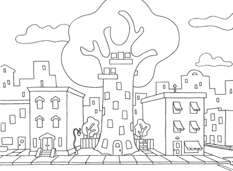 Daisy's apartment building.
