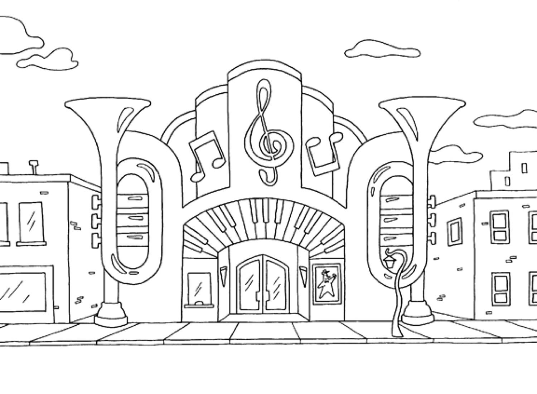 Music hall.