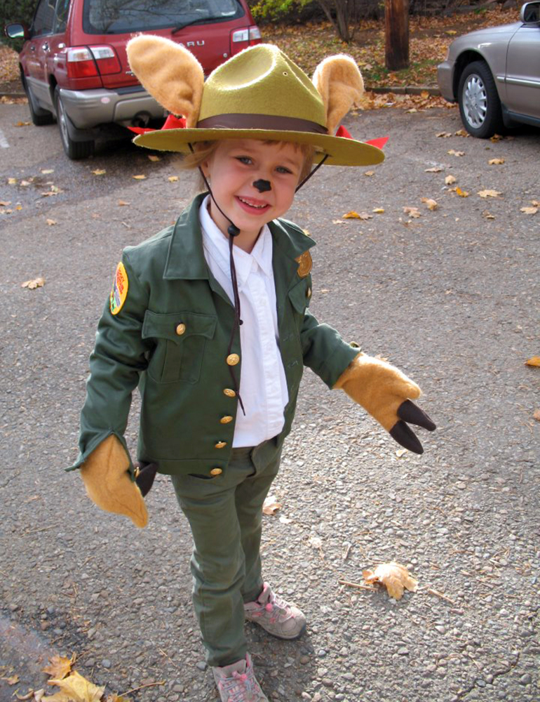 Ranger Paula became so popular locally that kids dressed as her for Halloween.