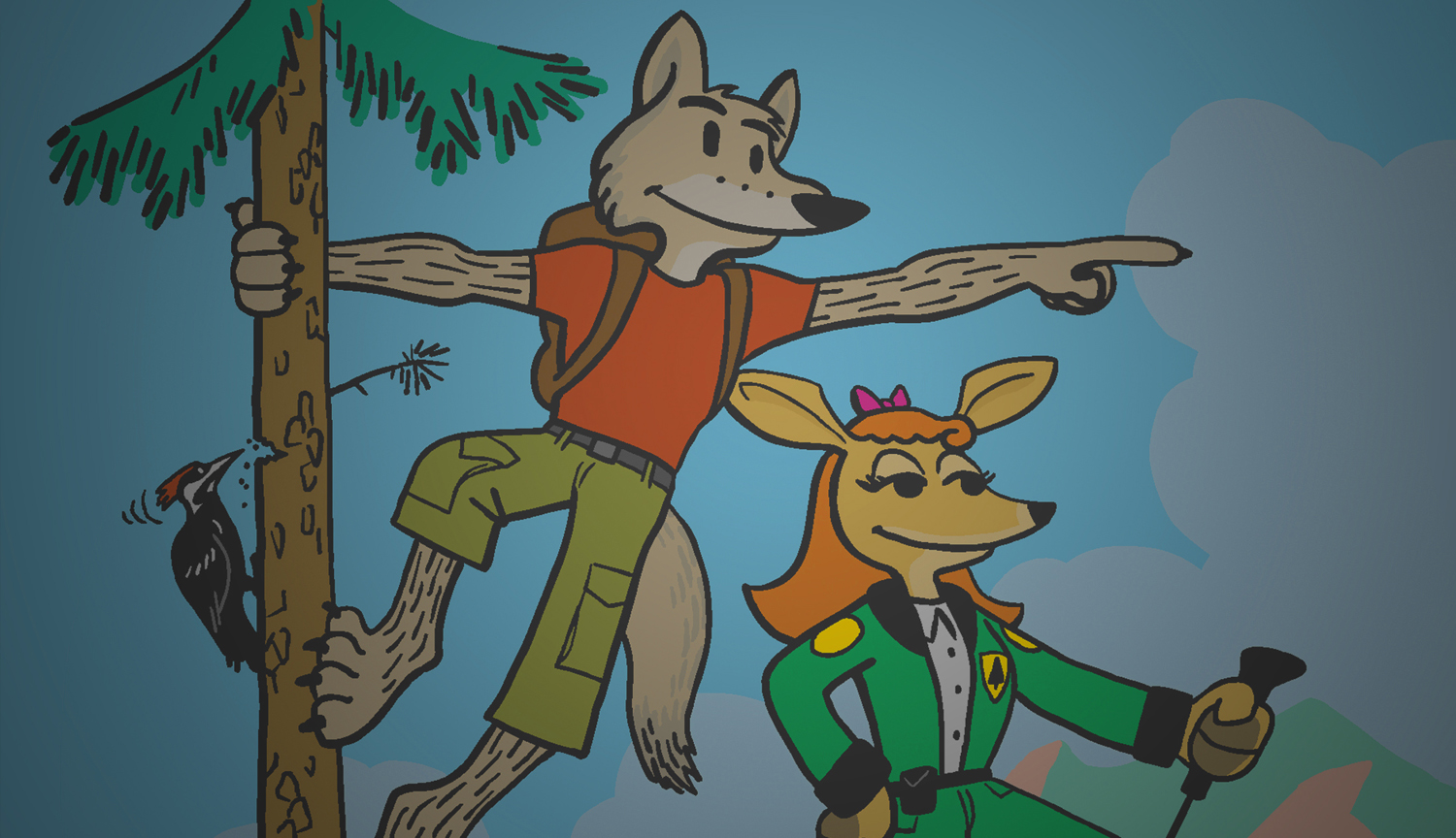 Coyote Bob - Nature Comics for Kids