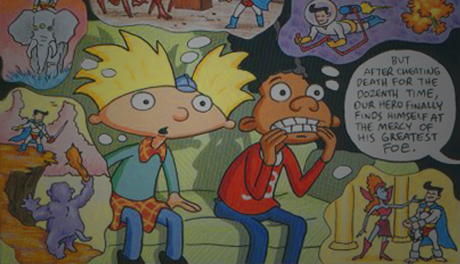 Hey Arnold! - Nickelodeon Magazine Comics
