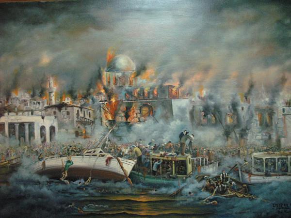 The Smyrna Catastrophe by Vasilis Bottas