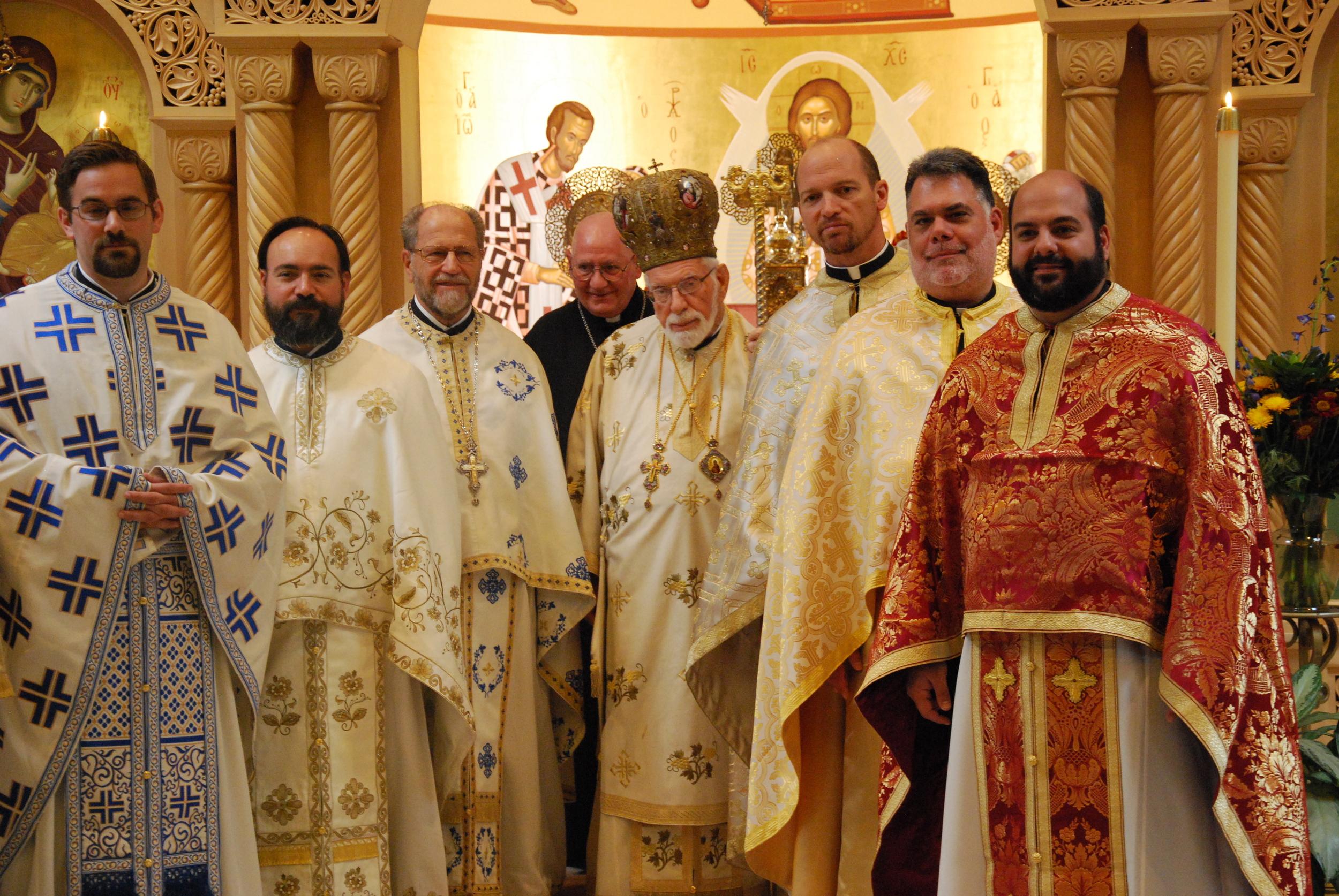 liturgy met iakovos w clergy.JPG