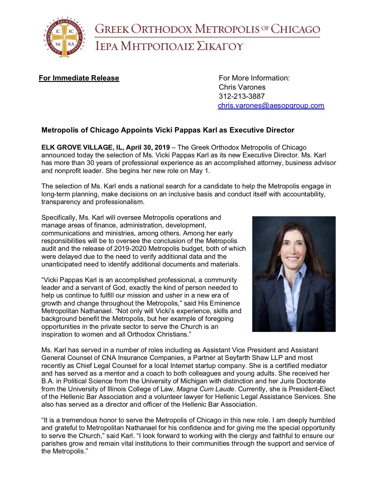 Executive Director Vicki Karl Press Release Apr 30.jpg