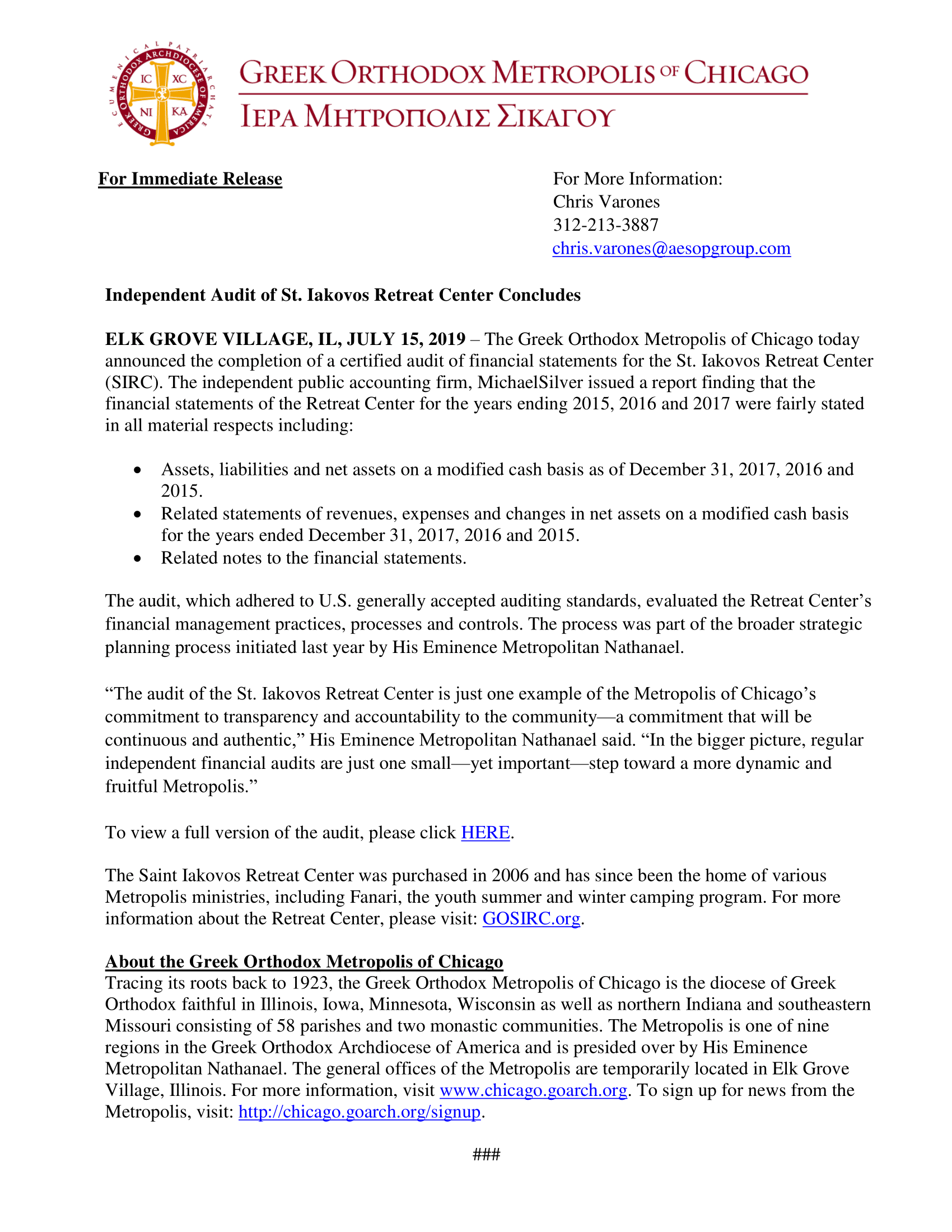 SIRC Financial Audit Press Release 2019-1.png