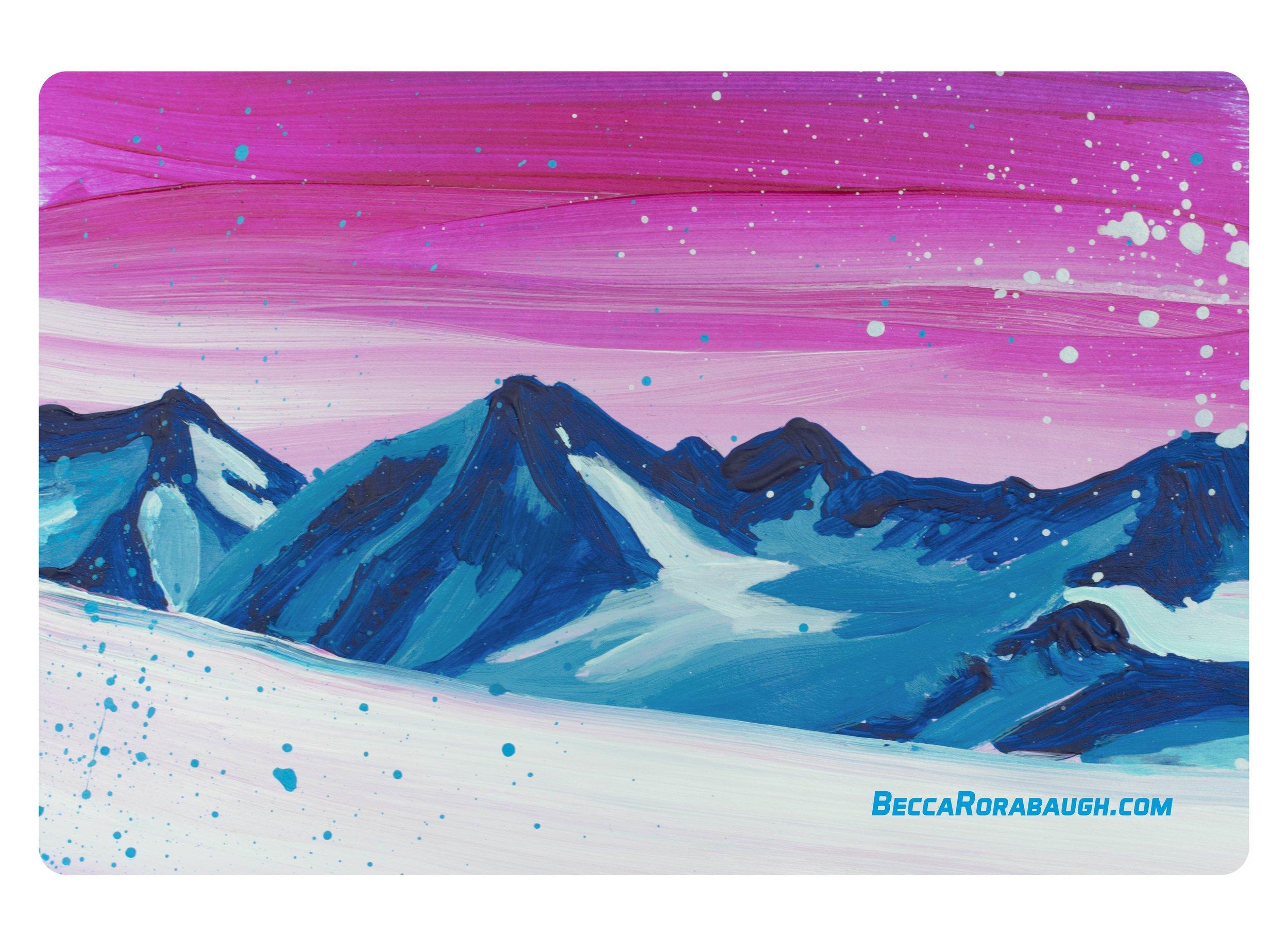 'Roost Peak' stickers