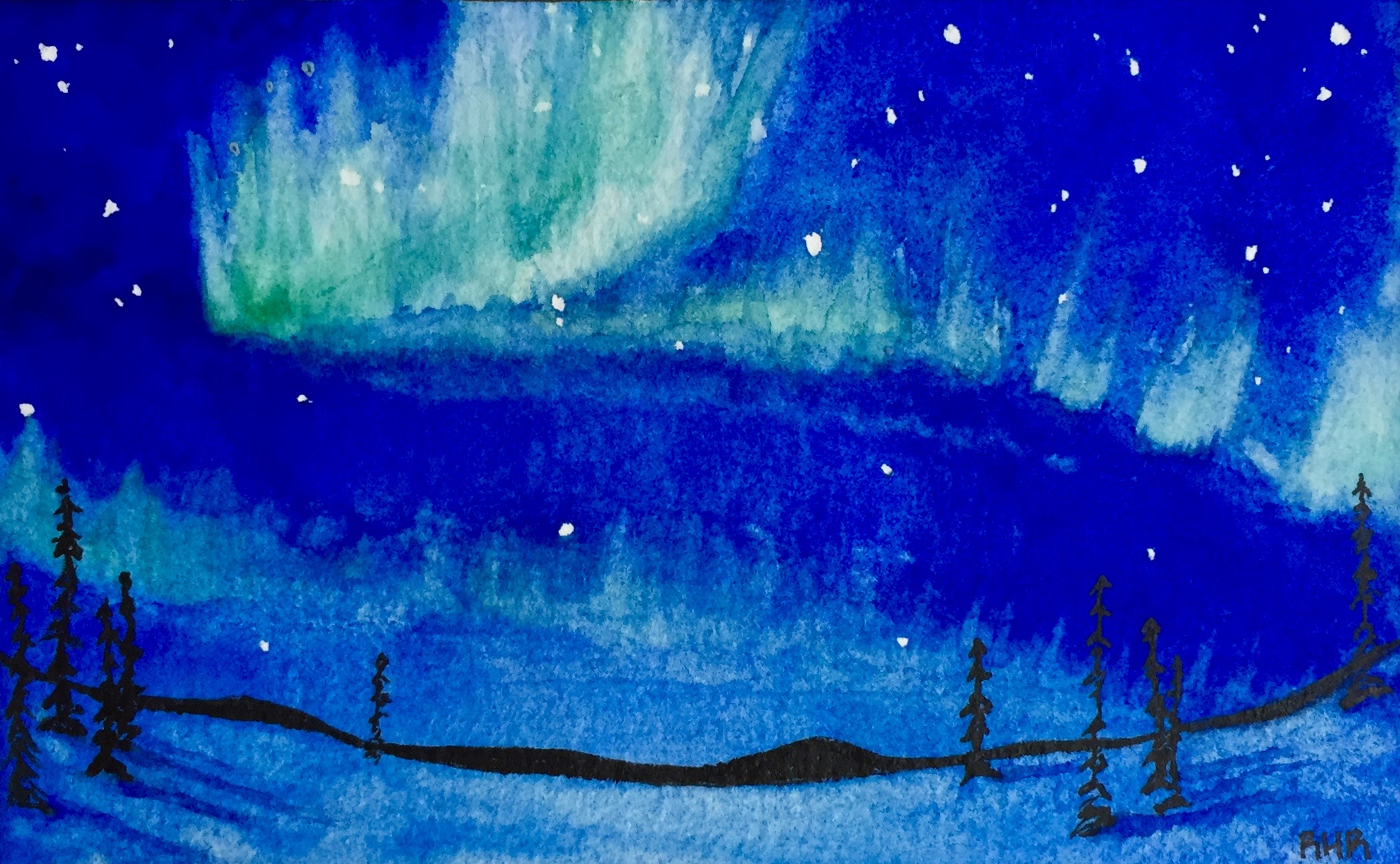 Northern Lights Watercolor 2016.jpg