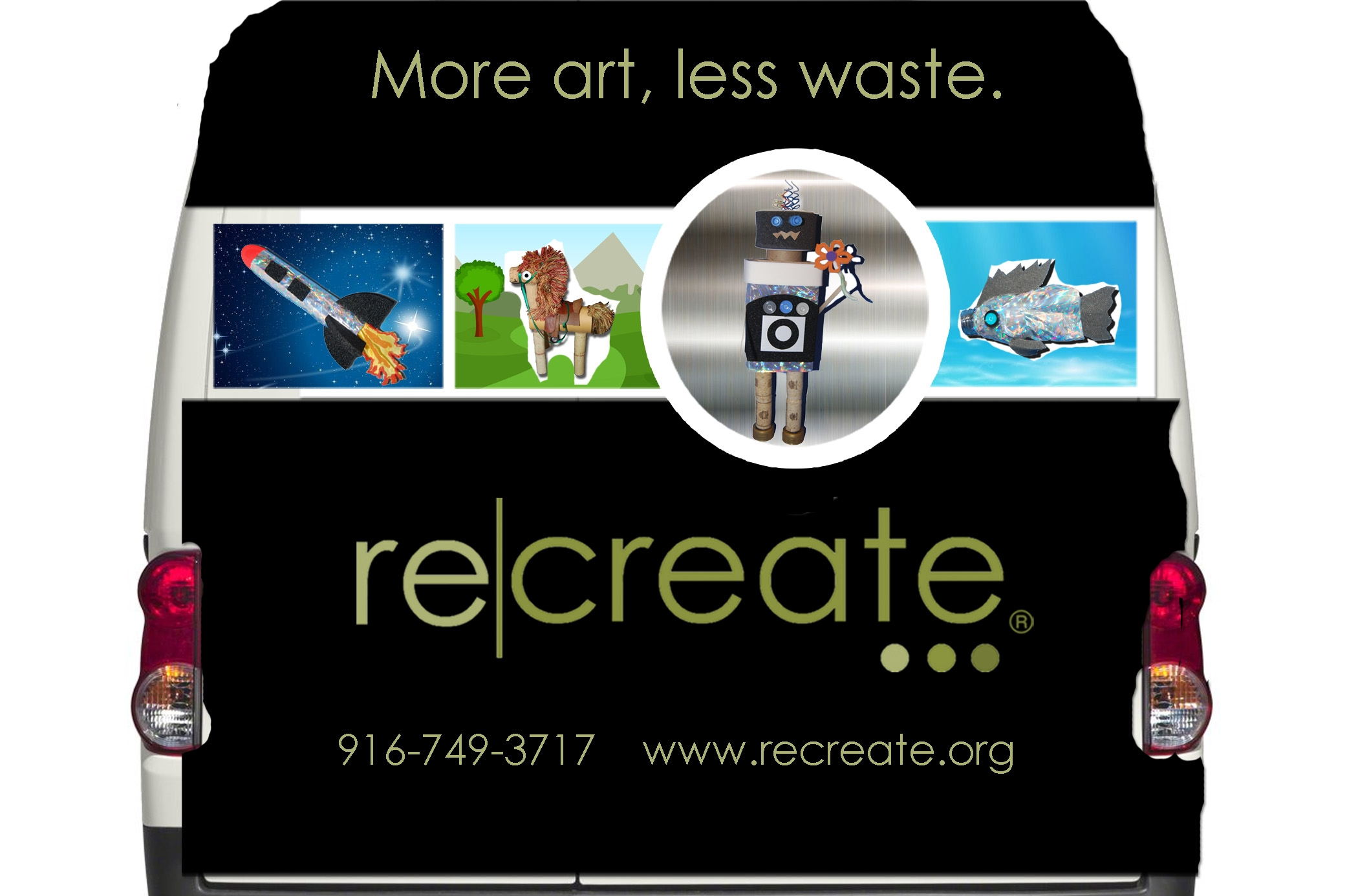 More Art, Less Waste Program