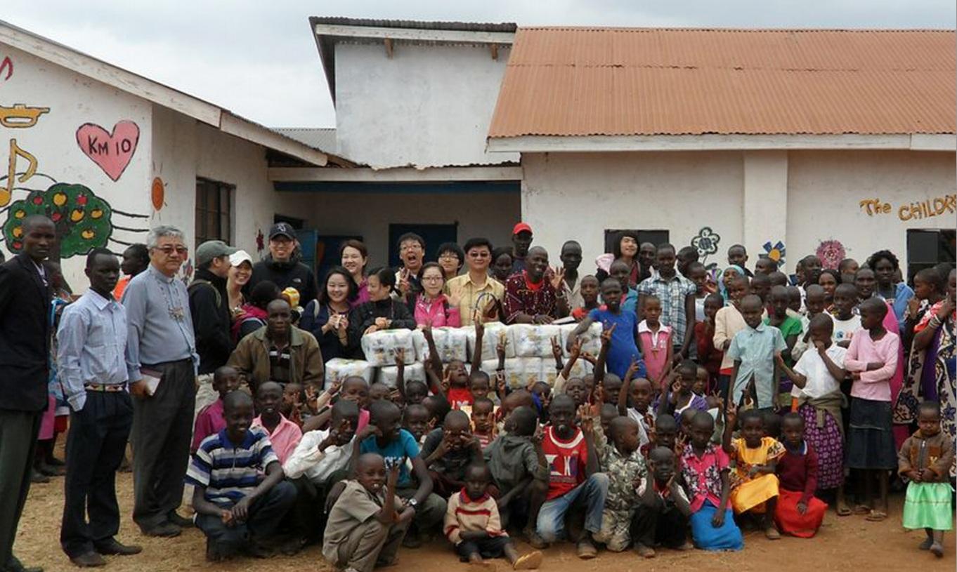 2013 케냐 맛사이족 단기선교