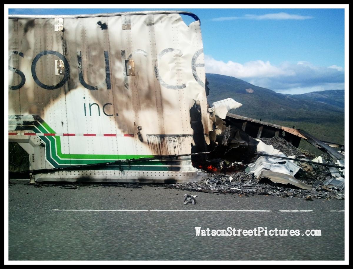 Burned Wreckage