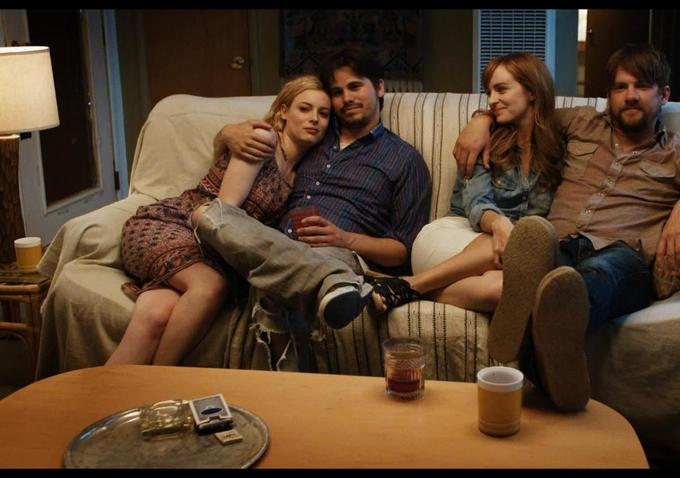 "Gillian Jacobs, Jason Ritter, Ahna O'Reilly and Zachary Knighton in ""The Big Ask"""