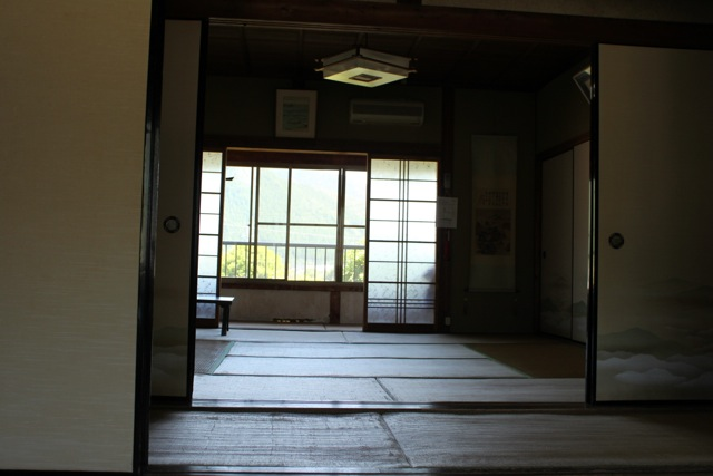 My guesthouse bedroom - traditional Japanese style.
