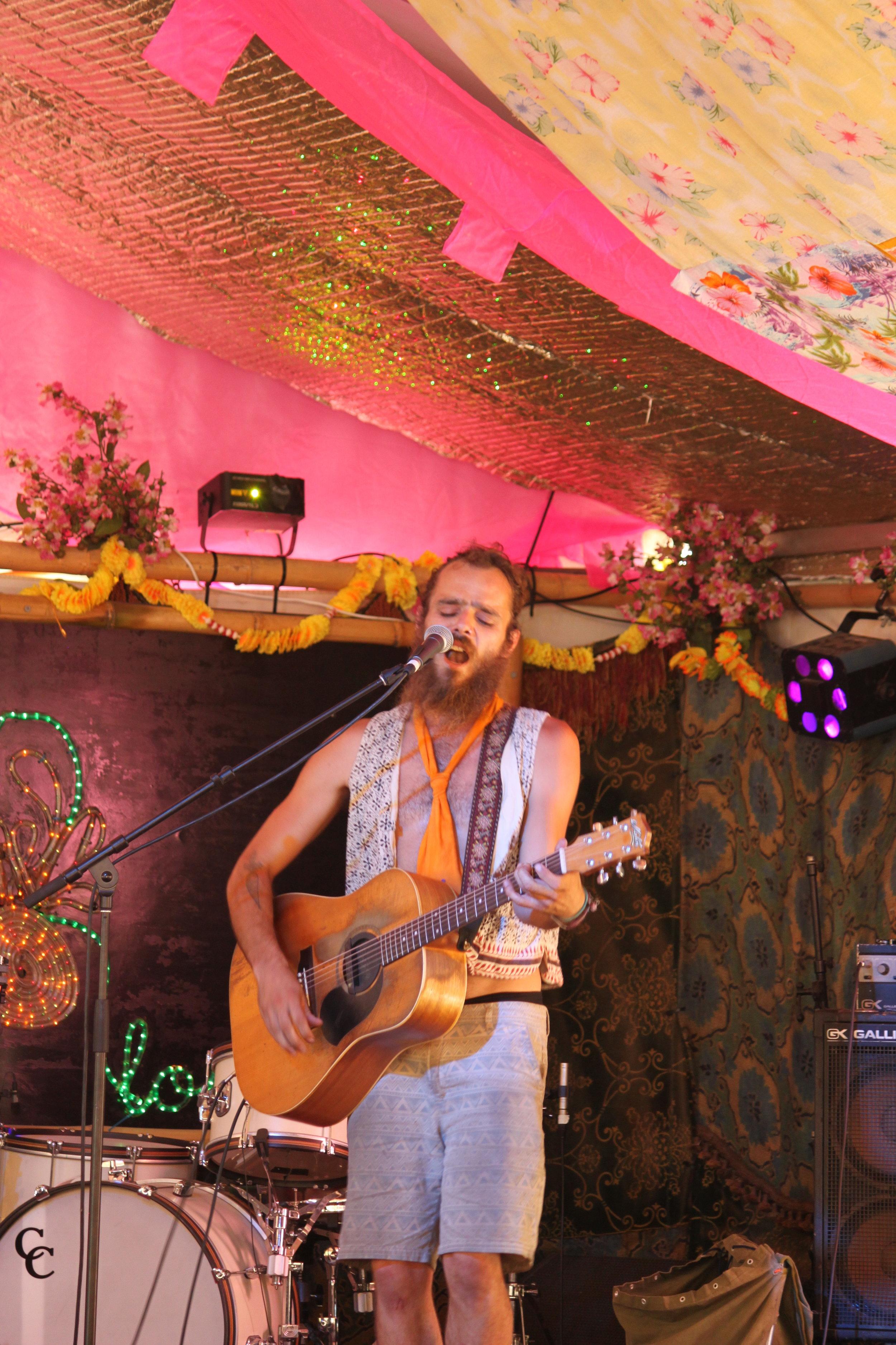Matt Stillert in the Pineapple Lounge