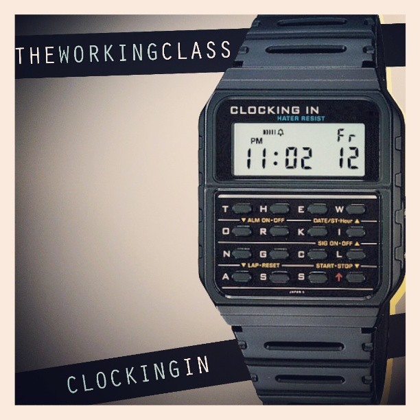 "When you see the calculator watch you know that that's a sign #freemixtape #WorkingClassUp Visit ashytojazzy.com for free streaming or download of Working Class's ""Clocking In"""