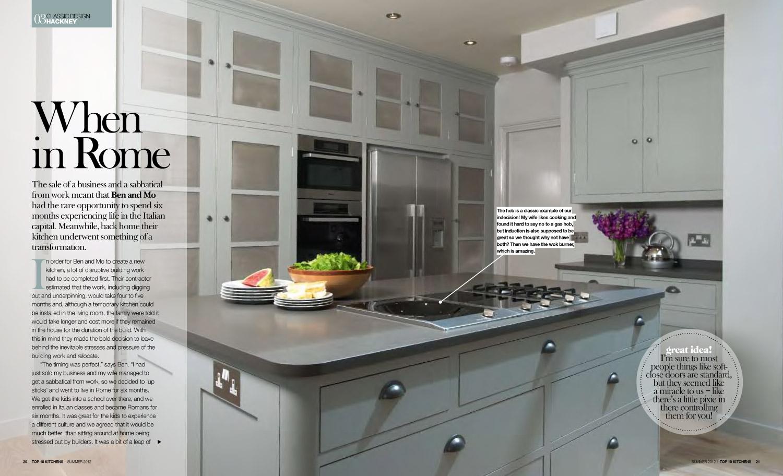Top 10 Kitchens Magazine: Summer 2012  Download PDF [0.3MB]