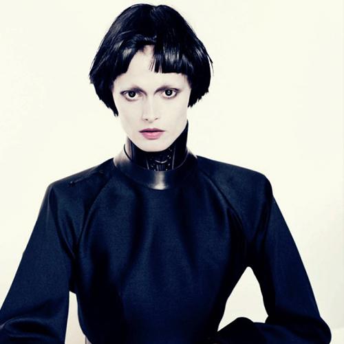 Vogue Italia. 'Black Fascination', with Paolo Roversi.