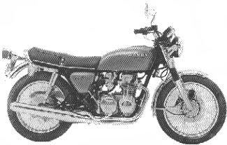 1975 CB550F0
