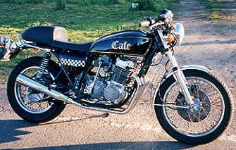 1978 CB750 Cafe Bike