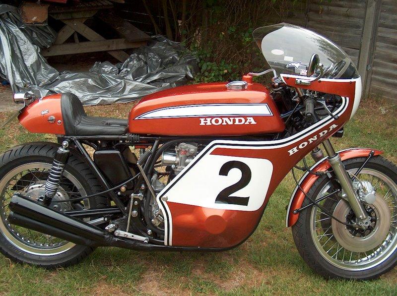 Mike M.'s CR750 Daytona/Mann Replica