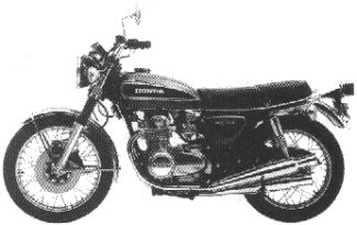 1975 CB550 K1