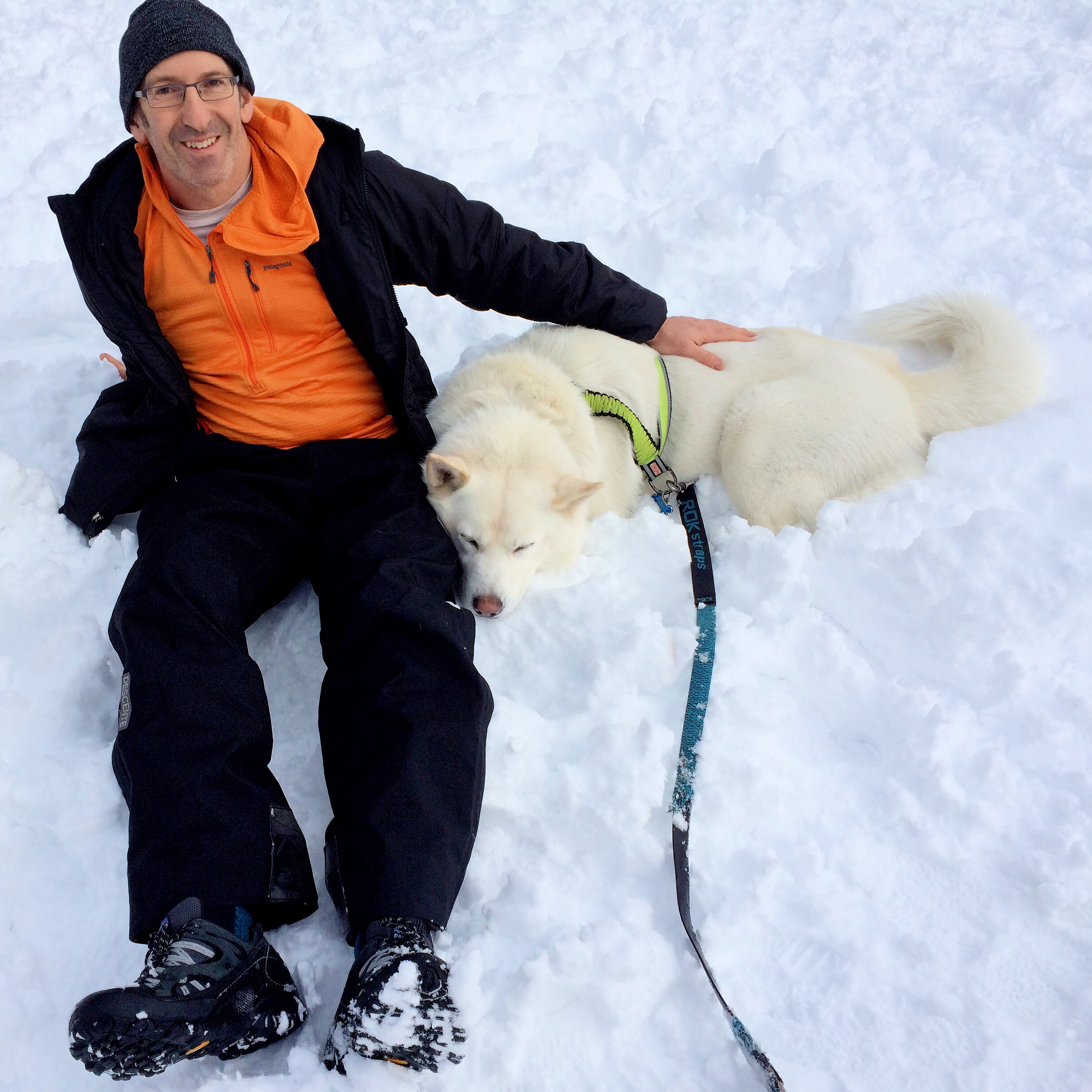 Max and me last winter.