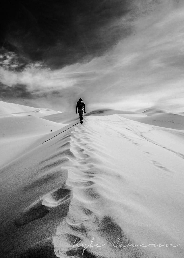 Another shot of the Eureka Dunes