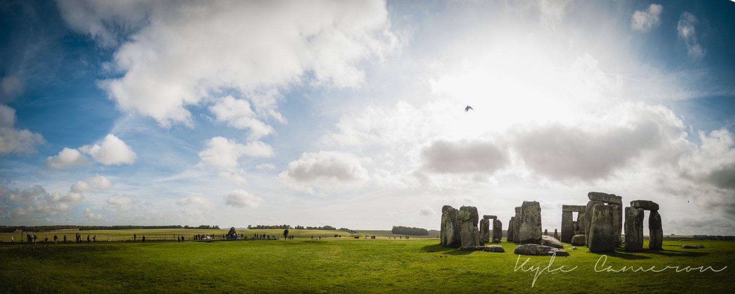 The lovely and supposedly mysterious Stonehenge.