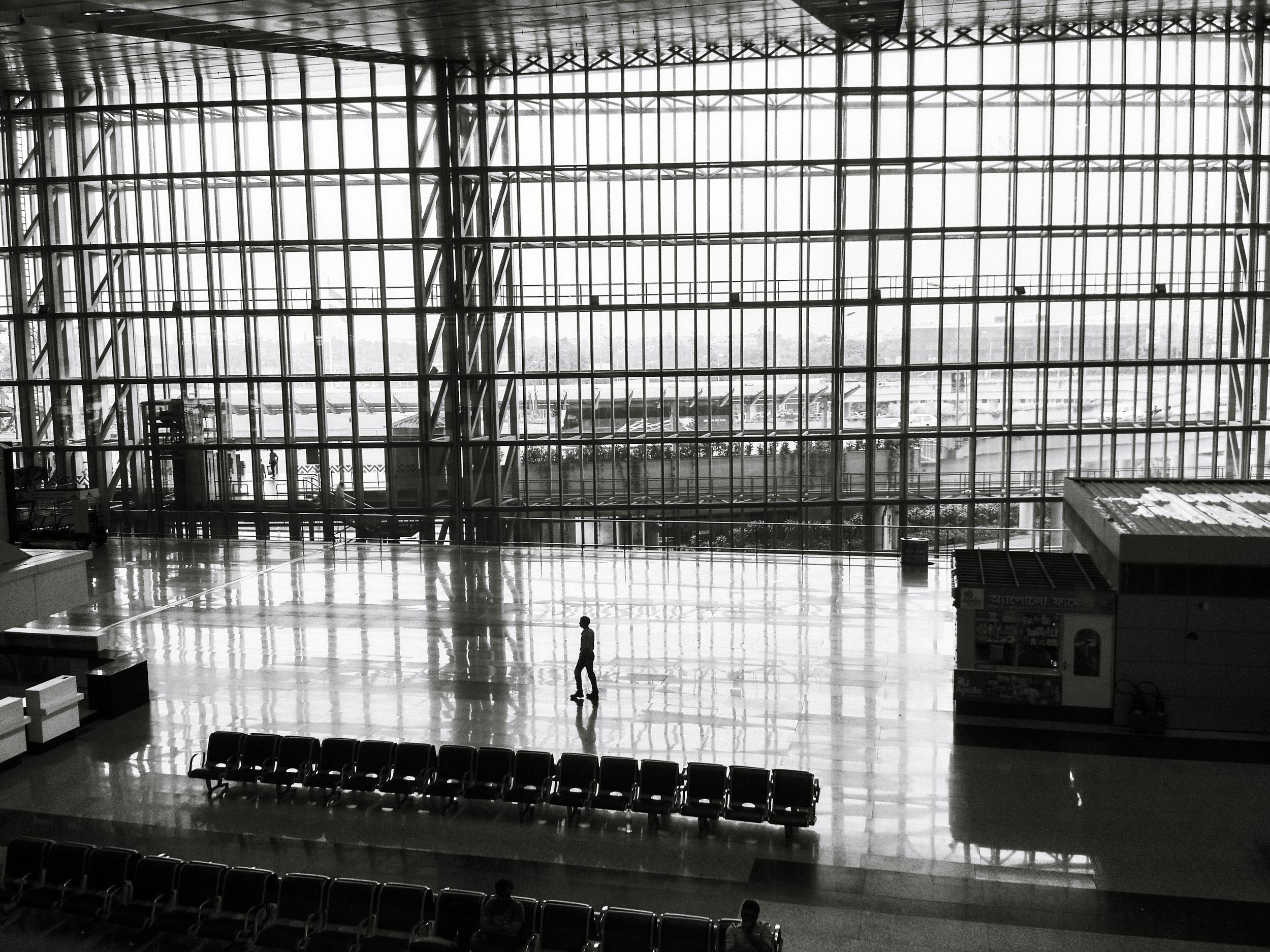 Kolkata airport I believe.