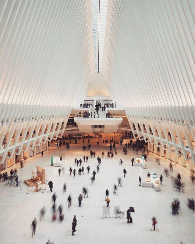 The Oculus in NY. . . . . . #longexposure_shots #oculusnyc #oculus #nyc  #sonya7ii #sonya7iicamera #sony28mmf2 #captureone #captureonepro #newyorkstyle #newyork #newyorkcity #mall #architectural #instaarchitecture #instanyc #architecture_view #architecture_hunter