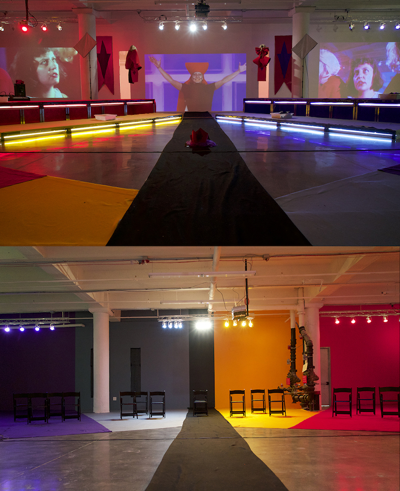 The Myth of Layla: Activists in Sexy Solidarity  , 2016, Installation, 1500 sq ft, Mana Contemporary