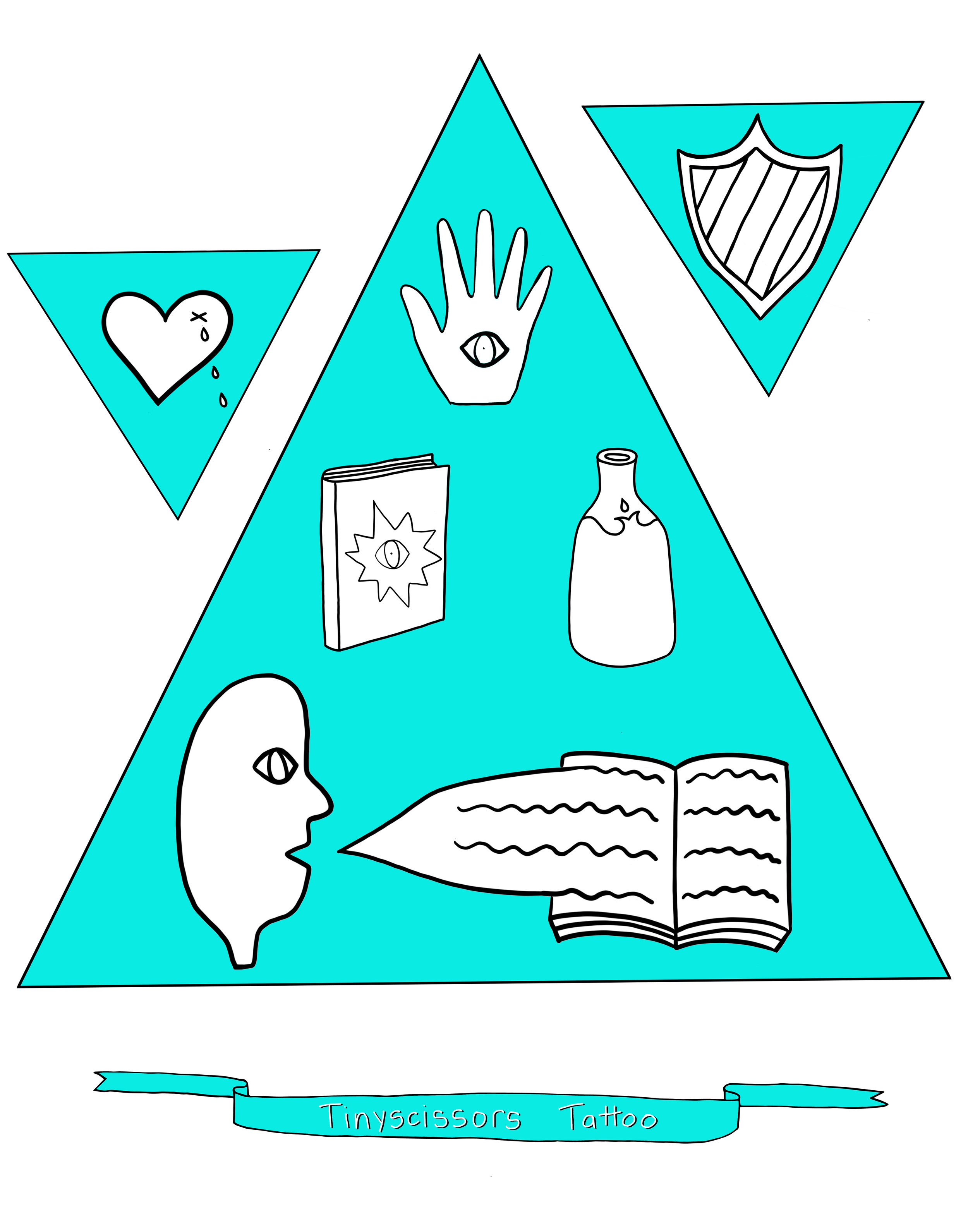 Tinyscissors Tattoo Flash Page #2