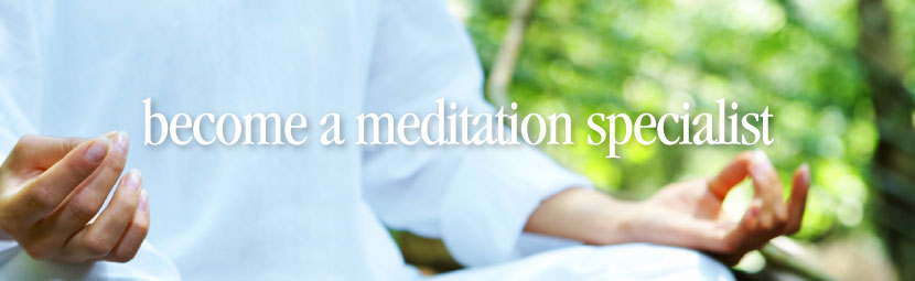 For more information about the Meditation Specialists Training Program, visit  the National Meditation Specialist Certification Board.