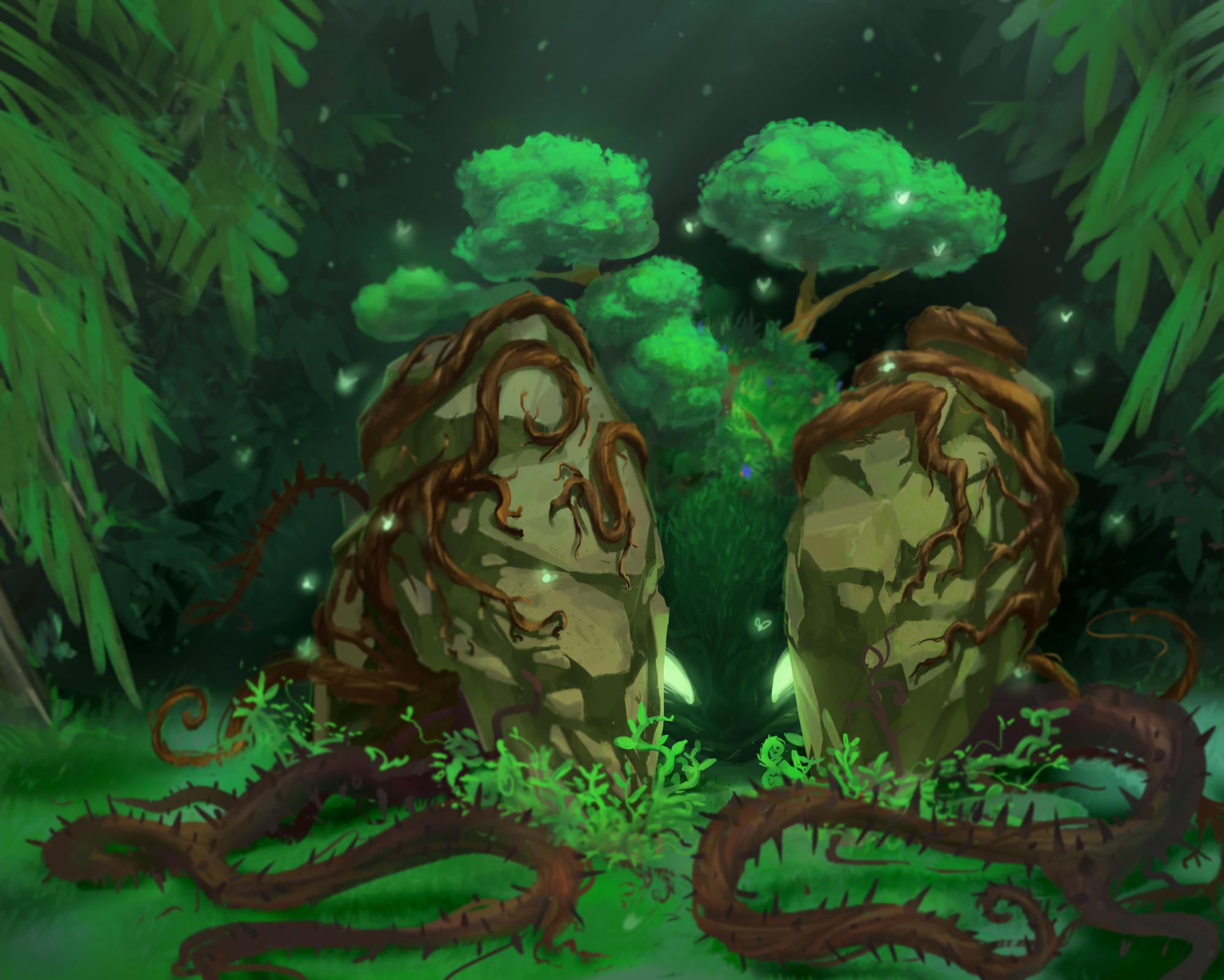 Forest & Rock Elemental