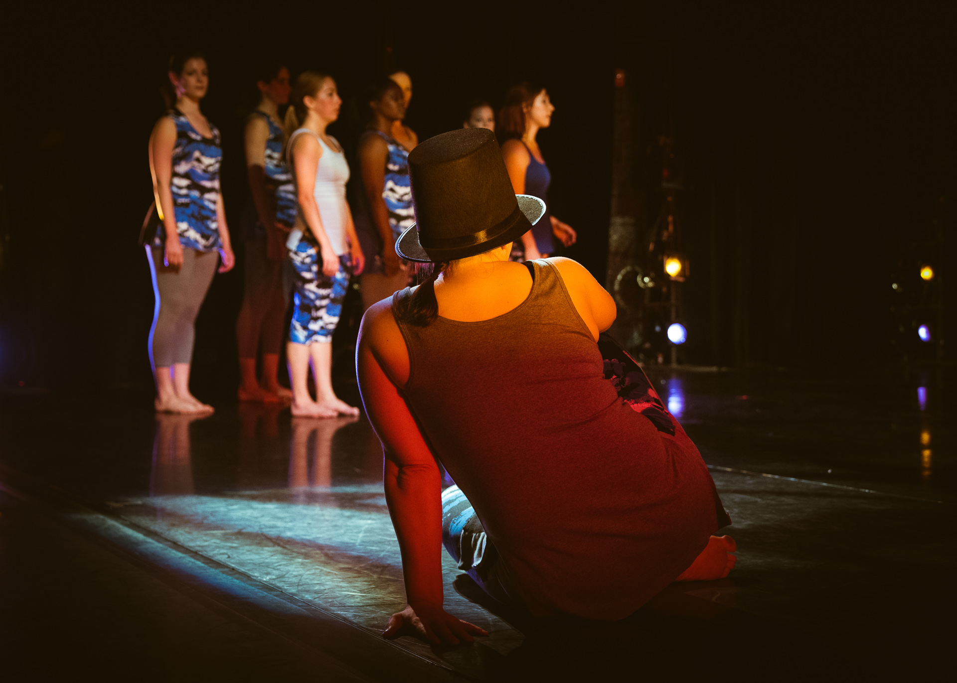 Glade Dance Collective's performance of  Mine/Field  at Dance Place