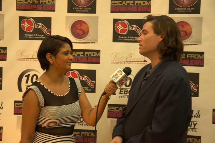 Interview with Lead Actor, Gregory Pollonais - Escape From Babylon, Empire Cinemas Red Carpet Premiere!