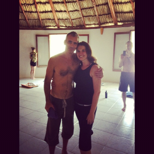 Stacey & Bryan Kest Yoga Immersion & Retreat - 2012 Maya Tulum, Mexico