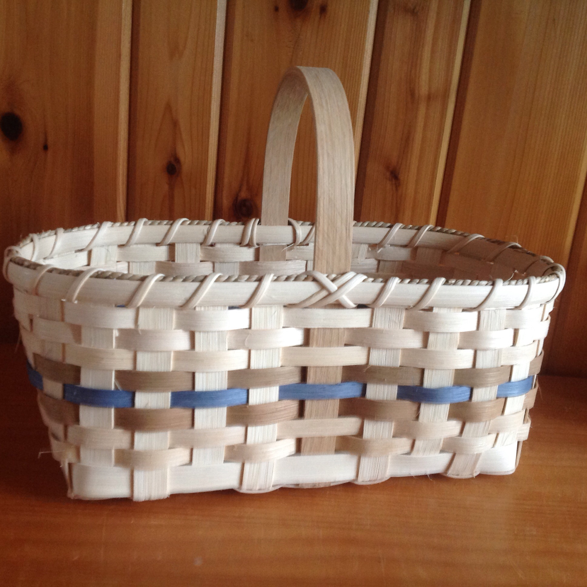 This is the basket each student will create during this workshop!