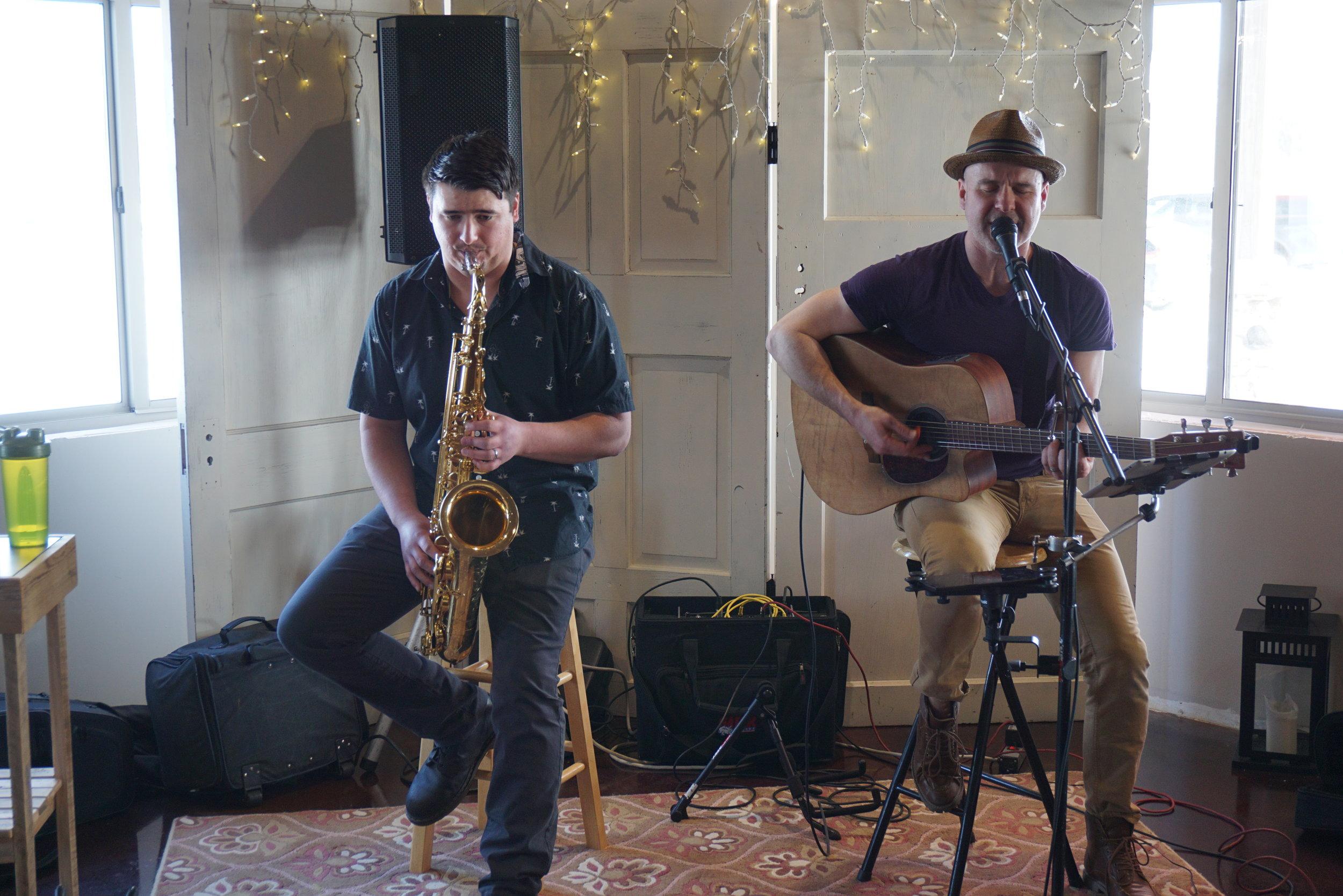 Kip J & Jason R at Winery.JPG