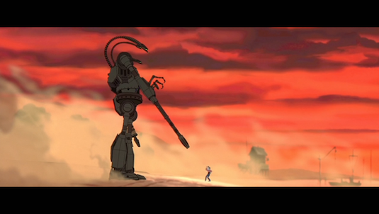 It's bad to kill. Guns kill. And you don't have to be a gun. You are what you choose to be. You choose. Choose. -Hogarth to the Iron Giant [3]