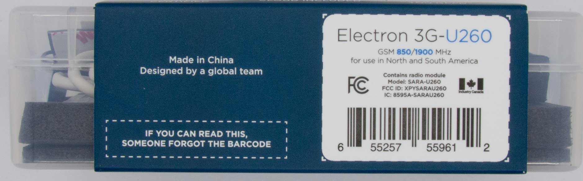 Hmm, I guess someone forgot the barcode then.