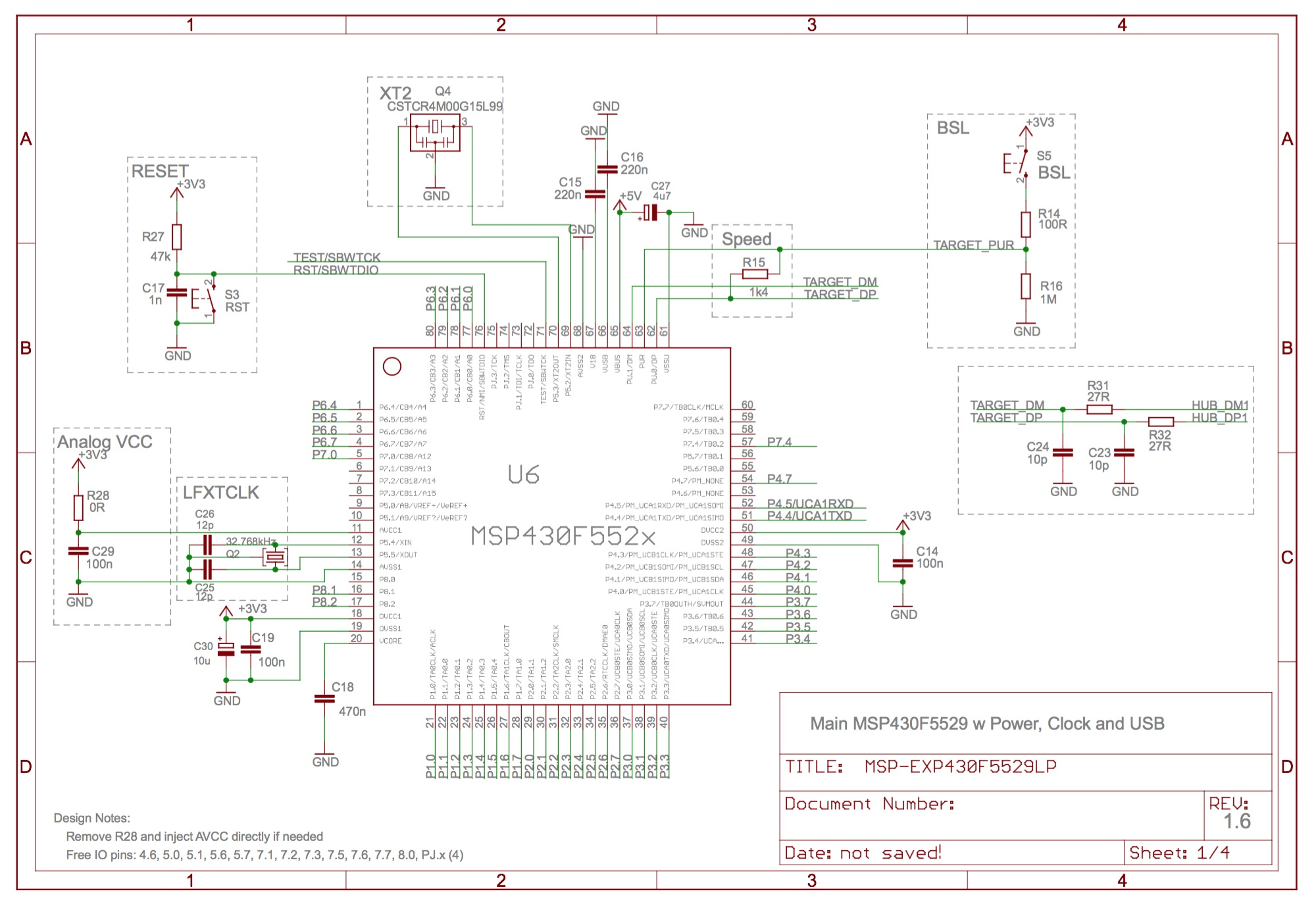 ESE101: Schematics, Buttons, and Pullups — Embedded
