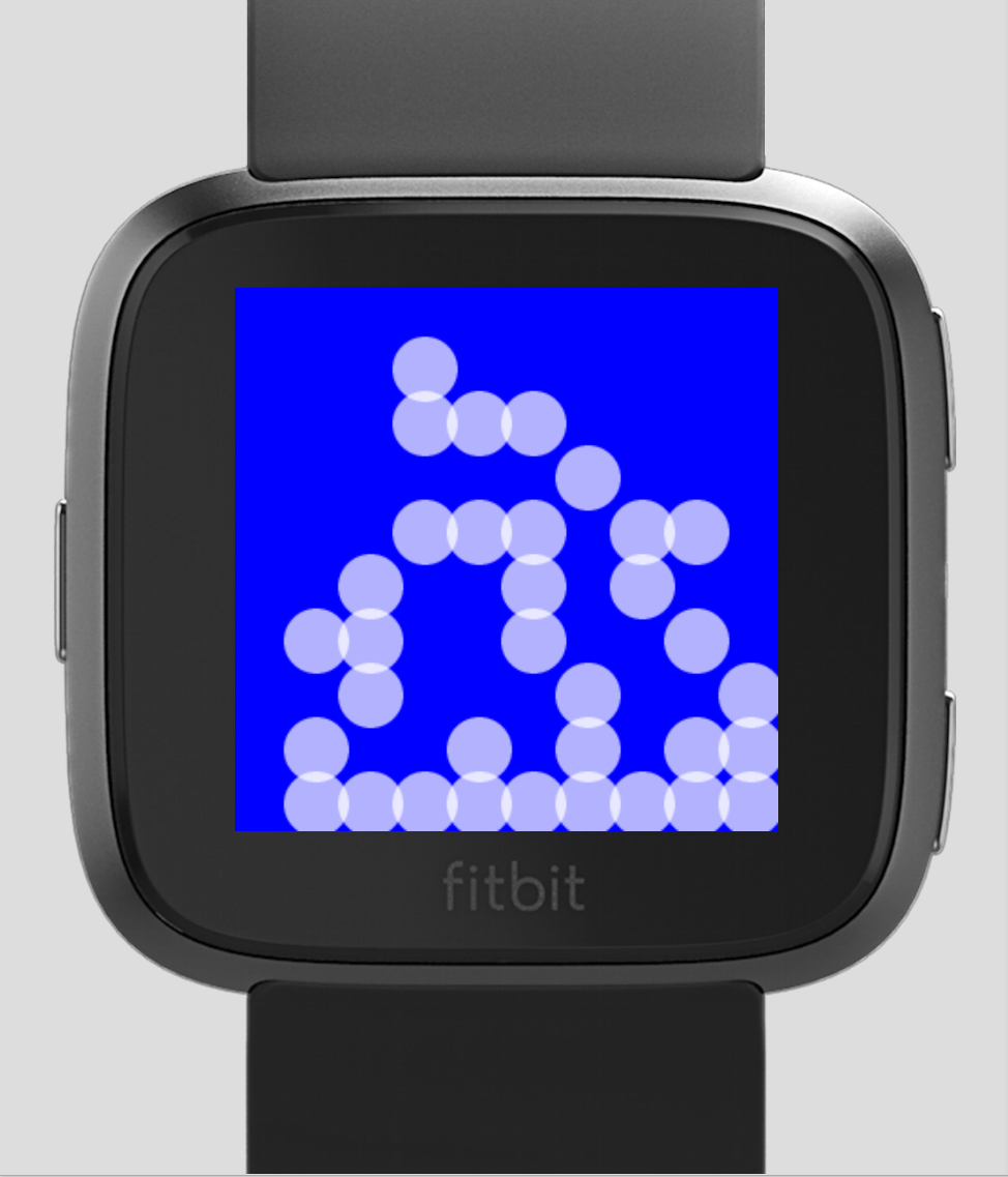 Fitbit Versa Clock Face: Conway — Embedded