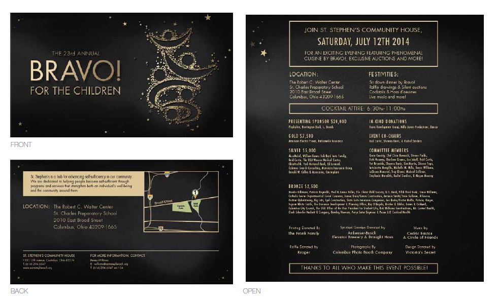 Invitation Layout