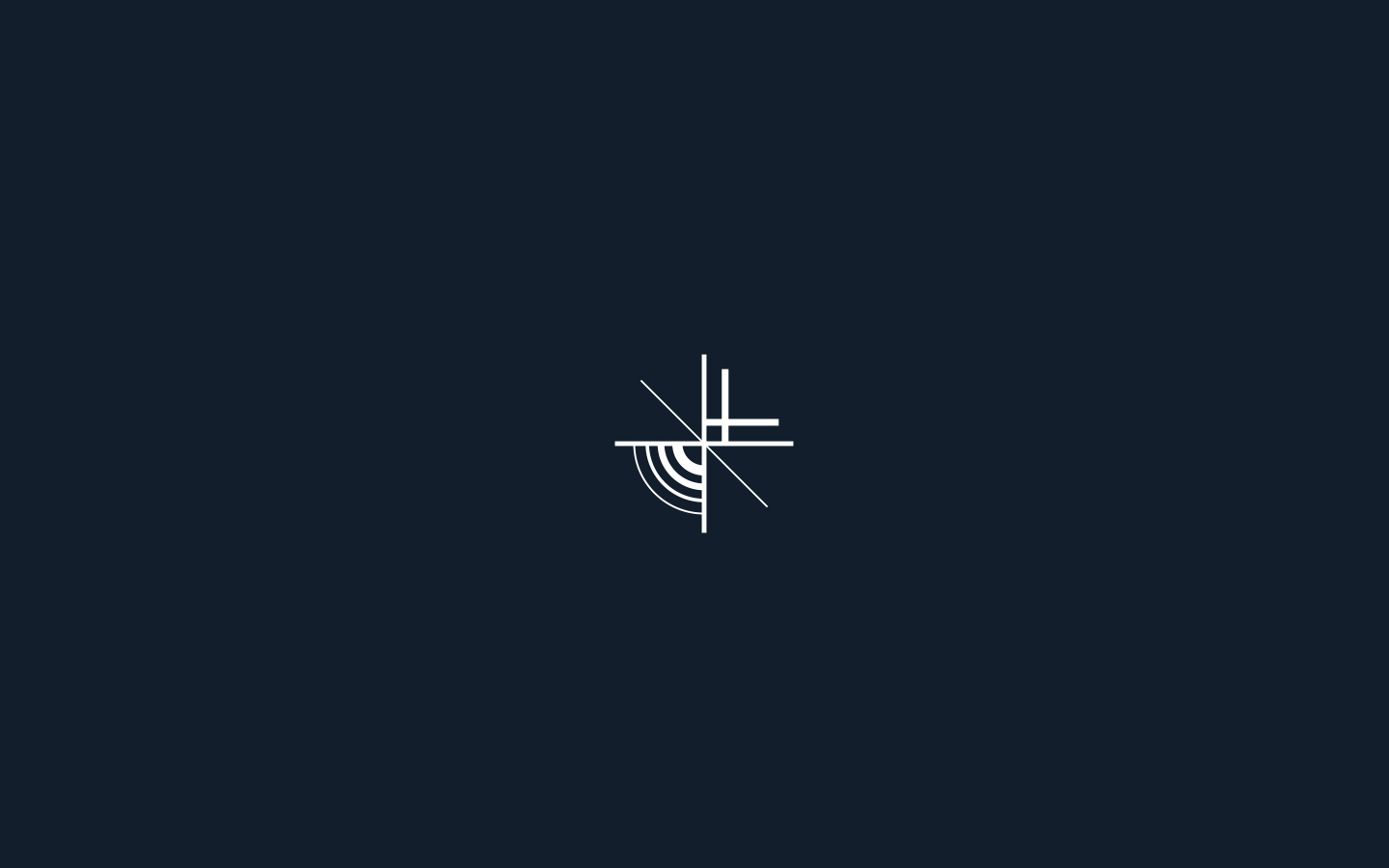Logotype and mark for Arch + Light Design Lab. 2018 | More  here .