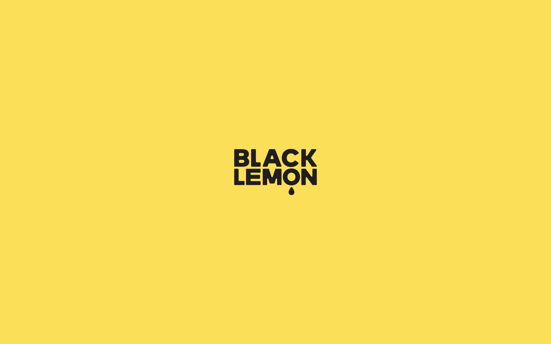 Logotype for BlackLemon TV. 2018