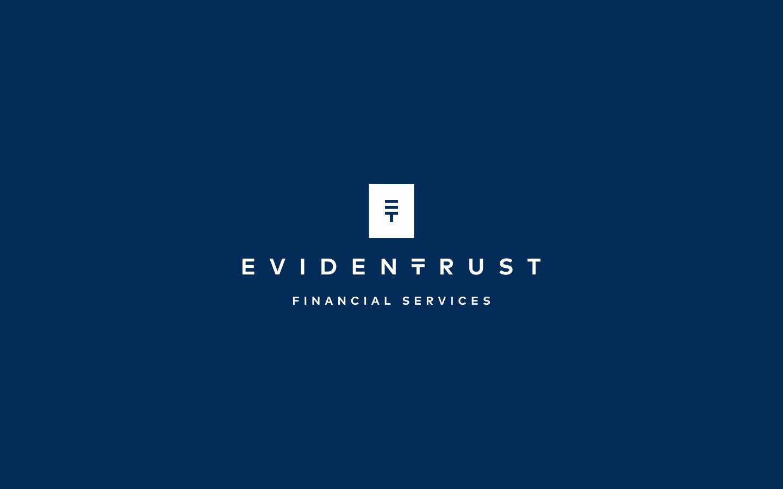 Branding for EvidenTrust. 2018